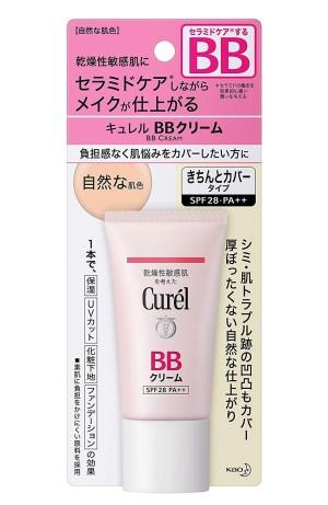 ВВ крем «натуральный цвет кожи» Kao Curel BB Cream SPF 28 / PA ++