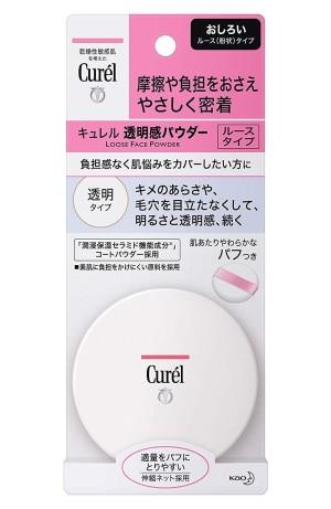 Увлажняющая матирующая пудра Kao Curel Transparent Feeling Powder