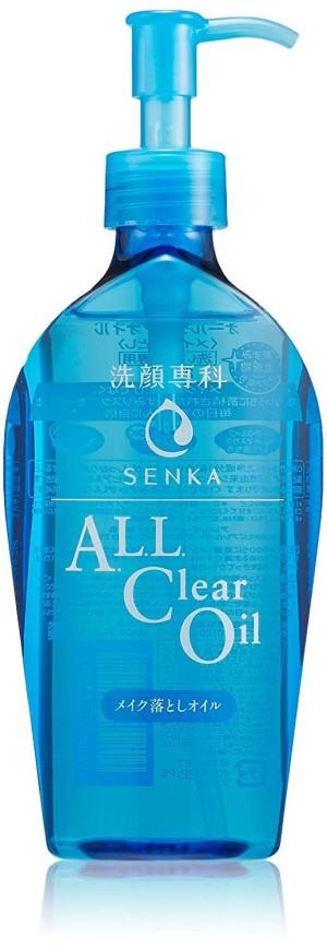 Гидрофильное масло для умывания Shiseido Senka All Clear Oil