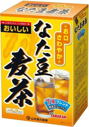 Чай с ячменем и черной фасолью Yamamoto Kanpo Sword Bean Barley Tea