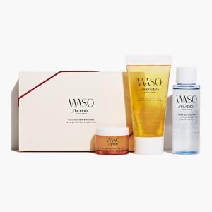 Пробный набор для ухода за кожей Shiseido Waso Ginza Tokyo Delicious Skin Box