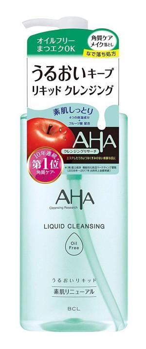 Безмасляная очищающая жидкость для демакияжа BCL AHA Liquid Cleansing Oil Free