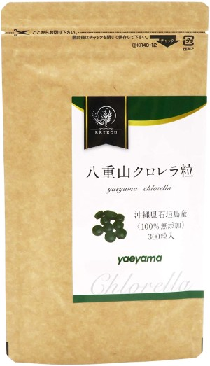 Чистая хлорелла в таблетках Yaeyama Chlorella 100%