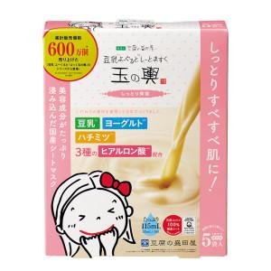 Увлажняющая тканевая маска с соевым молоком Tofu Moritaya Soy Milk Yogurt And Mask Moisturizing