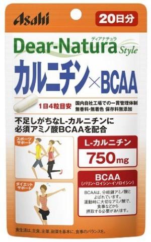 Комплекс для набора мышечной массы Asahi Dear-Natura  Style Carnitine+BCAA