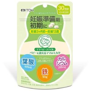 Витамины для беременных в первом триместре ITOH Mom Baby Smile Mikata