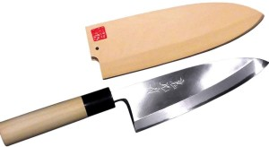Нож для разделки рыба Дэба боте YEBISU YAIBA Takumi Deba Sakai Luxury Kitchen Knife