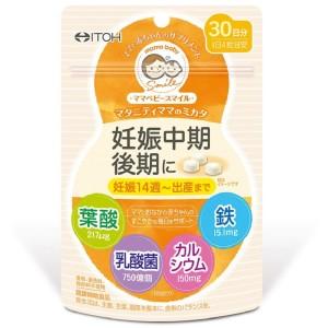 Витамины для беременных во II-III триместре ITOH Mom Baby Smile Mikata