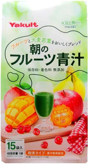 Аодзиру Yakult с фруктами