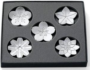 Набор подставок для палочек в подарочной упаковке Nousaku Chopstick Rest Hanabana