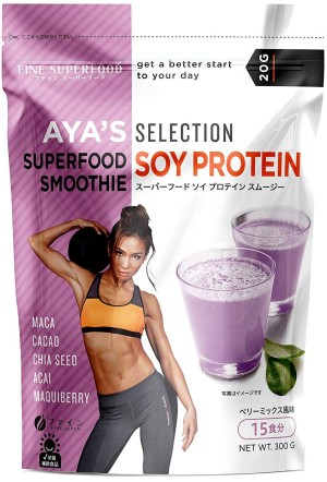 Протеиновый смузи FINE JAPAN SUPERFOOD SOY PROTEIN SMOOTHIE