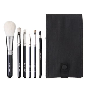 Набор из 6 кистей Hakuhodo Basic Selection Brush Set B 6 pcs