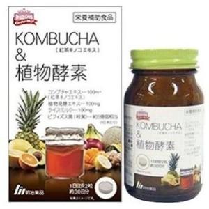 Комплекс с ферментами для укрепления здоровья Meiji KOMBUCHA & Plant Enzymes