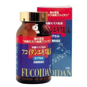 Концентрированный фукоидан в капсулах Kanehide Bio Co Ltd FUCOIDAN