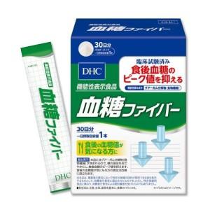 Комплекс для снижения уровня сахара и холестерина DHC Blood Sugar Fiber