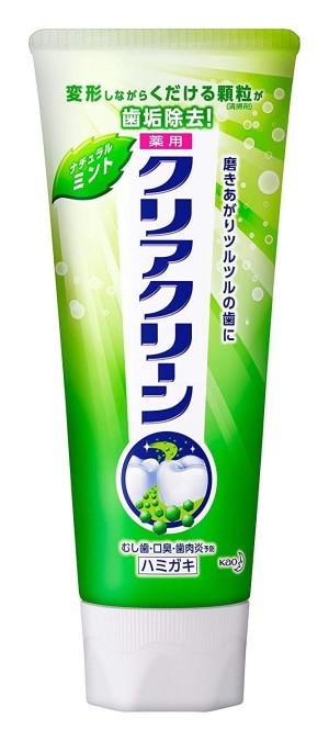Лечебная освежающая зубная паста Kao Clear Clean Medicated Toothpaste