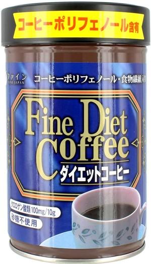 Диетический кофе с экстрактом гарцинии FINE JAPAN Diet Coffee