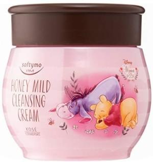 Очищающий крем с медом Kose Softymo Cleansing Cream Honey Mild