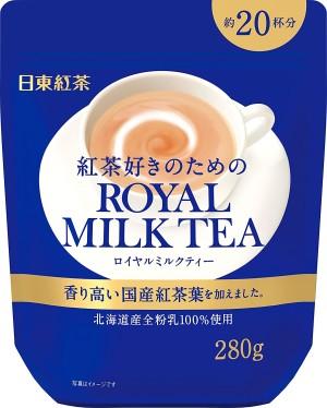 Быстрорастворимый черный чай с молоком Nittoh Black Royal Milk Tea