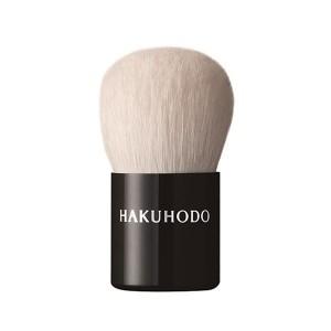 Кисть для пудры, румян, хайлайтера Hakuhodo Kinoko Brush BkA Round