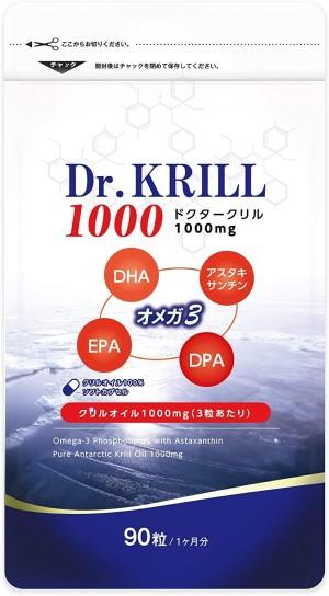 Омега-3 из масла антарктического криля Dr. Krill 1000