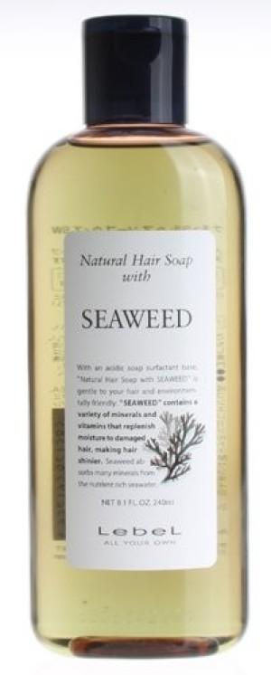 Шампунь на растительной основе LebeL Natural Hair Soap SEAWEED с экстрактом морских водорослей