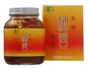 Органический сливовый соус Мусо Honpo Organic Umebishio YoHisashi Muso