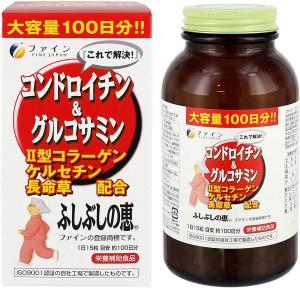 Хондроитин + глюкозамин Fine Japan Chondroitin & Glucosamine 100
