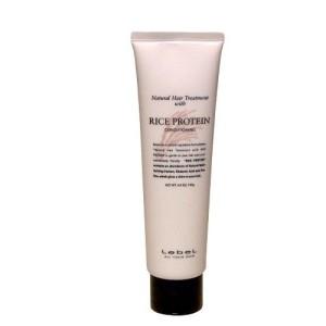Восстанавливающая маска с протеином риса LEBEL RICE PROTEIN CONDITIONING для ухода за тонкими поврежденными волосами