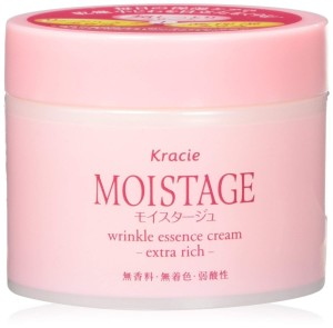 Разглаживающий крем Kracie Moistage Wrinkle Essence Cream Extra Rich