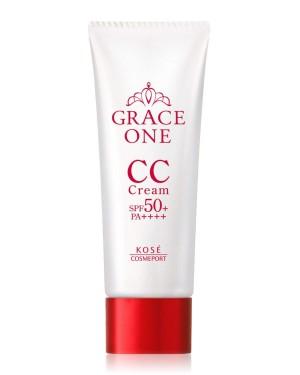 Солнцезащитный CC крем KOSE Grace One CC Cream UV