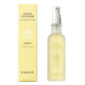Арома-спрей для восстановления внутреннего баланса KAGAE Fresh Cologne Earth