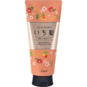 Увлажняющий бальзам для волос Kracie Ichikami Hair Dense W Moisturizing Care Treatment