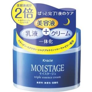 Увлажняющий ночной крем тройного действия Kracie Moistage Triple Essence Cream