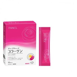HTC Коллаген желе FANCL Deep charge Collagen stick jelly