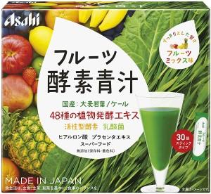Аодзиру с ферментами Asahi Fruit Enzyme Green Juice