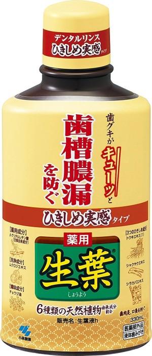 Жидкость для полоскания рта Kobayashi Pharmaceutical Medicinal Leaf Tightness Living Fluid