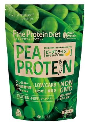 Протеиновый коктейль для поддержания организма во время диеты FINE JAPAN Protein Diet Pea