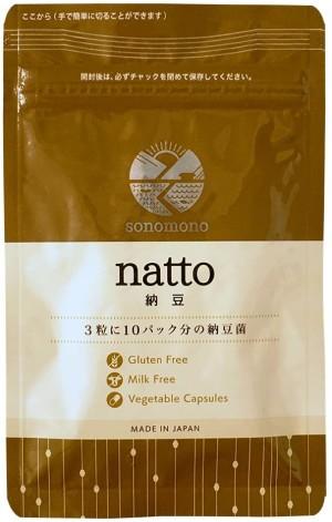 Живые бактерии натто в капсулах Sonomono Natto 100%