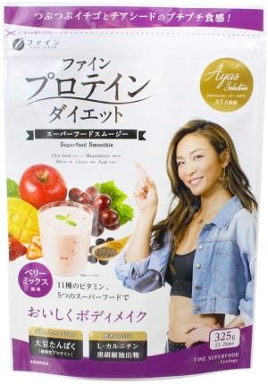 Протеиновый фруктово-ягодный смузи FINE JAPAN AYA's Selection Protein Diet Smoothie Fruit Berry Mix Flavor