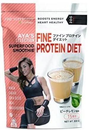 Протеиновый коктейль со вкусом персика и лимона FINE JAPAN AYA's Selection Protein Smoothie Peach Lemon