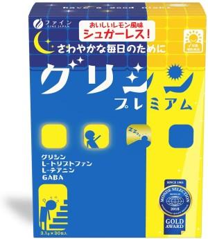 Комплекс с глицином при ухудшении работы мозга и нарушенном сне FINE JAPAN Good Night