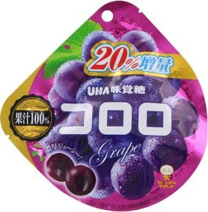 Жевательные конфеты с коллагеном и соком красного винограда UHA Grape