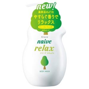 Расслабляющий гель для душа Kracie Naive Relax Body Wash