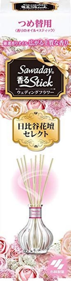 Натуральный ароматизатор для дома Kobayashi Stick свадебные цветы (сменный блок)