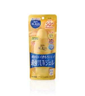 Супер-увлажняющий солнцезащитный гель Rohto SKIN AQUA UV Super Moisture Gel Strongest Gold UV Sunscreen SPF50 + / PA ++++