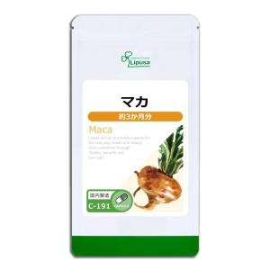 Чистая мака для поддержания молодости и здоровья Lipusa Pure Maca
