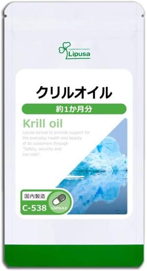 Масло криля Lipusa Krill Oil