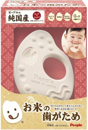 Натуральный прорезыватель для зубов People Rice Series Teeth 0+