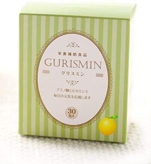 Быстрорастворимый напиток с глицином и карнитином Taiyoudo Pharmaceutical Gurismin + Amino Acid L-carnitine Luxury